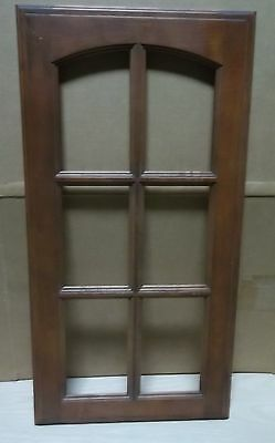 "2 FRAME CABINET DOORS PAINT GRADE MAPLE OPEN FRAME SHAKER 11 3//4 X 28 3//4/"" #41"