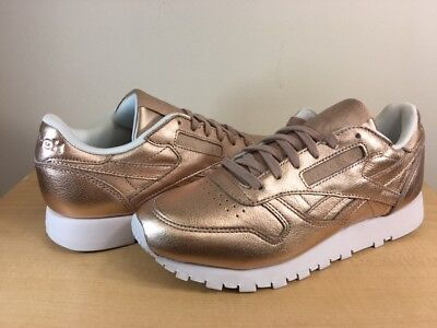 07c943d007288e WOMENS REEBOK CL LEATHER MELTED META
