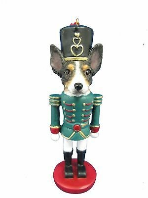 Rat Terrier Dog Soldier Holiday NUTCRACKER ORNAMENT