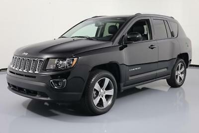 2016 Jeep Compass Latitude Sport Utility 4-Door 2016 JEEP COMPASS HIGH ALTITUDE HTD LEATHER SUNROOF 28K #716095 Texas Direct