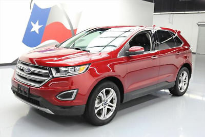 2016 Ford Edge Titanium Sport Utility 4-Door 2016 FORD EDGE TITANIUM ECOBOOST AWD TECH LEATHER NAV #B44265 Texas Direct Auto