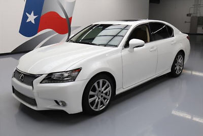 2014 Lexus GS Base Sedan 4-Door 2014 LEXUS GS350 SUNROOF NAVIGATION REARVIEW CAM 29K MI #039325 Texas Direct