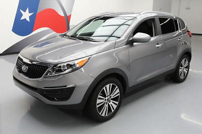 2016 Kia Sportage  2016 KIA SPORTAGE EX AWD HEATED LEATHER REAR CAM 25K MI #874799 Texas Direct