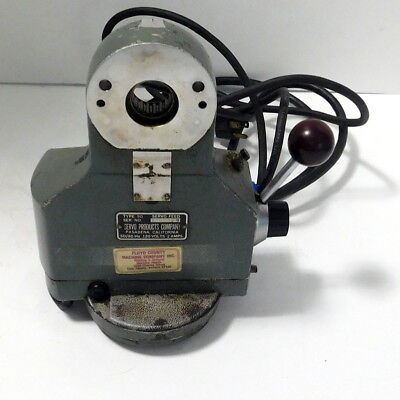 Servo Power Feed Type 90 For Milling Machine - Untested
