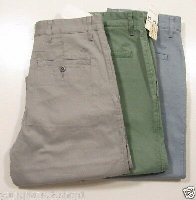 Dockers Men's Stretch Straight Fit Washed Khaki Flyweight Pants