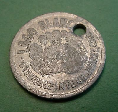 Juarez Mexico Trade Token Lago Blanco  Venus De Milo Good For 20 Centavo<>#97709