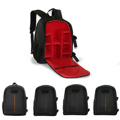 Multi-functional Travel Carrying Backpack Laptop Camera Case Bag for Canon