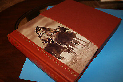 Bury My Heart At Wounded Knee by Dee Brown.  Buckram bound. Folio Society