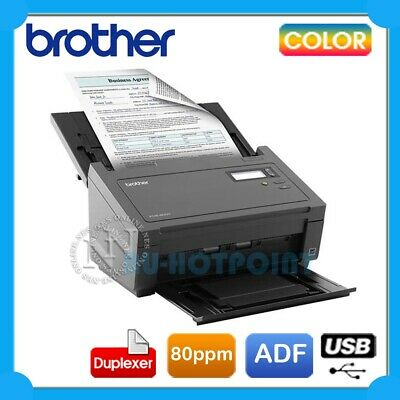 Brother PDS-6000 A4 Color Document Sheetfed High Speed Scanner+Duplex+ADF *RFB*