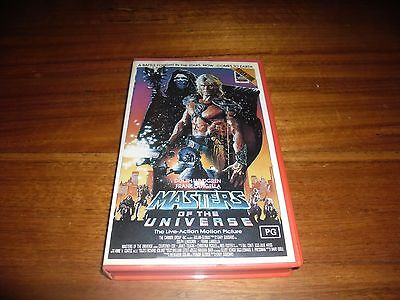 Masters of the Universe Live Action MOTU Sci-Fi Mattel Cannon HORROR VHS Cult 87