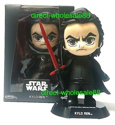 Star Wars The Last Jedi Hot Toys Kylo Ren Cosbaby Disney Bobble-Head
