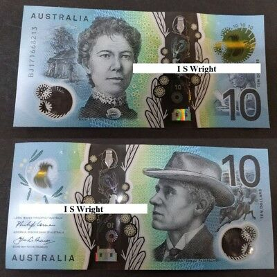 JUST RELEASE!!!! Australia: 2017 $10 Banknote UNC