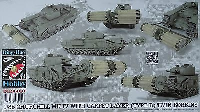 DING-HAO HOBBY DH96010 Churchill Mk.IV w/Carpet Layer (Type B) in 1:35