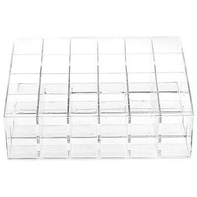 Clear Lipstick Lip Gloss Nail Polish Makeup Cosmetic Display Stand Rack Holder
