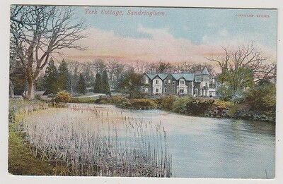 Norfolk postcard - York Cottage, Sandringham