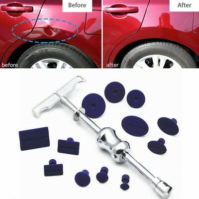 1PC Car T-Bar Paintless Dent Repair Removal Tools Puller Lifter With 12X Tabs