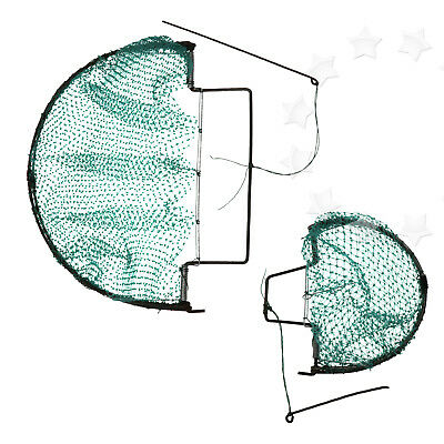 Efficient Sparrow Bird Pigeon Quail Humane Domed Trap Hunting Mesh Net 2 Size