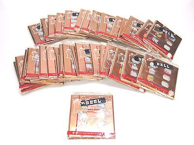 NOS! LOT of (35) BELL INTERCHANGE 2-GANG COPPER FINISH WALL PLATE, HORIZONTAL