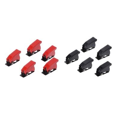 5Pcs Plastic 12mm Toggle Switch Safety Cover Protector Cap Guard