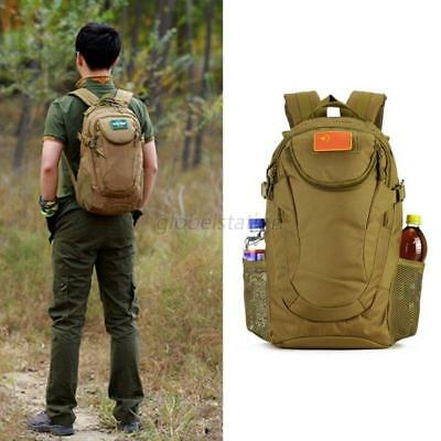25L Outdoor Tactical Molle Hiking Camping Bag Army Military Rucksack Backpack UK