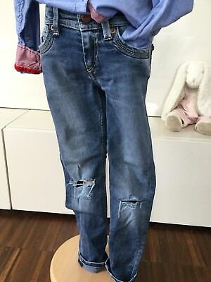"""PEPE JEANS coole skinny used Jeans """"Betty"""" Gr. 6/116 destroyed"""