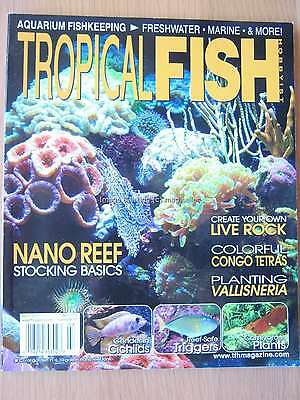 Tropical Fish Hobbyist March 2013 Nano Reef Congo Tetras Triggers Cichlids