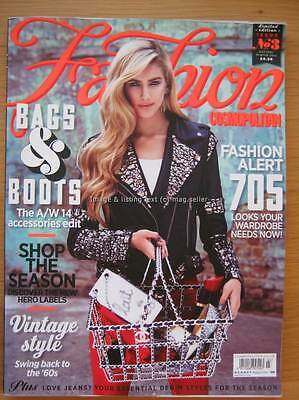Cosmopolitan Fashion Autumn Winter 2014 issue 3 Bags & Boots Vintage Style