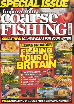 Improve Your Coarse Fishing October November 2011