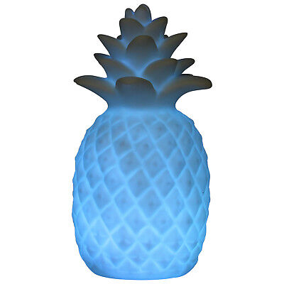 Pineapple Multi Colour Changing LED Table Bedroom Light Tropical Lamp Home Decor