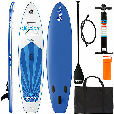 EXPLORER SUP stand-up-paddleset Sunshine Board Brett PLANCHE DE SURF PLAQUE