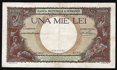 1000 Lei From Romania 1936  M8