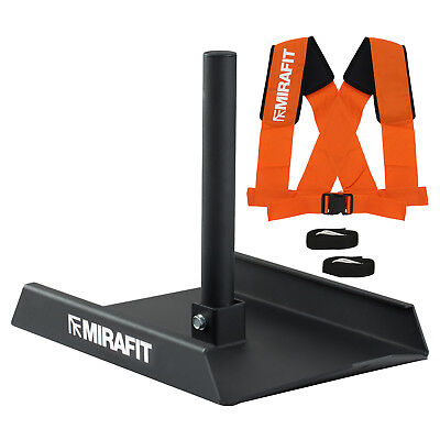 Mirafit M1 Weight Sled & Harness Power/Speed/Drag Strength Training Gym Workout