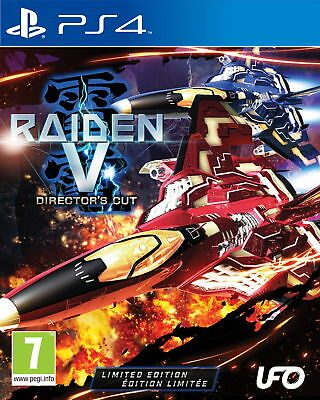 Raiden V: Director's Cut (Limited Edition) (PS4) [New Game]