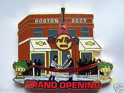 2007 Hard Rock Cafe Boston Grand Opening Facade/ribbon Cutting Le Pin