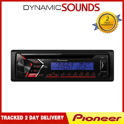 Pioneer DEH-S100UBB Car CD MP3 Stereo RDS Tuner Front USB Aux In Player