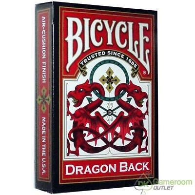 Bicycle Red Dragon Back Standard Index Playing Cards - 1 deck(s)