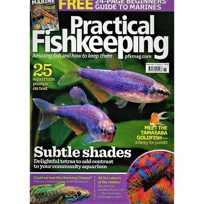 Practical Fishkeeping Magazine Nov 2017 Issue 12 Marine Guide PFK Tropical Fish
