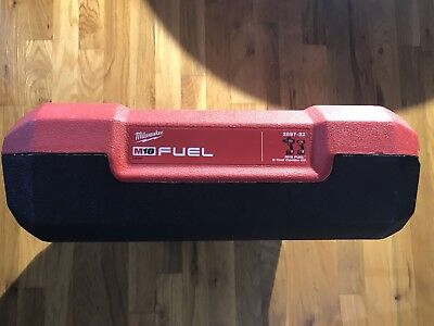 Milwaukee Tools 2897-22 M18 Fuel Impact Hammer Drilly Carry Case Red Black