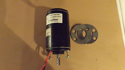 Thomson Saginaw Actuator Motor Generator Part# 7821136 / PPA12-58B65-24NHSC 58:1