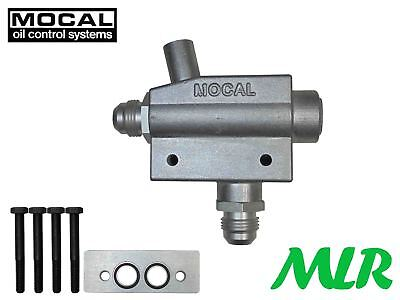 Mocal Otgm7-10 Oil Cooler Adapter For Gm Ls Engines Ls1 Ls2 Ls3 Ls7 Ls9 Corvette