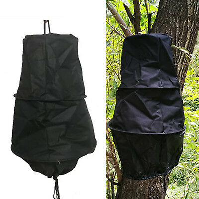 3 Layers Beekeeping Tools Bee Cage Catch Bees Wild Recruit Black 40cm New CHIC