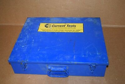 "Current Tools 164 Knockout Punch Set Replacement Case 1/2"" To 4"", Greenlee 7310"