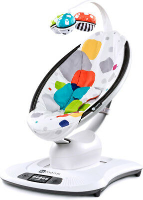 4moms 3D-Babywippe mamaRoo bunt mit Muster - sTEXT