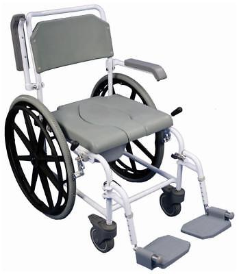 Aidapt Self Propelled Shower Commode Chair