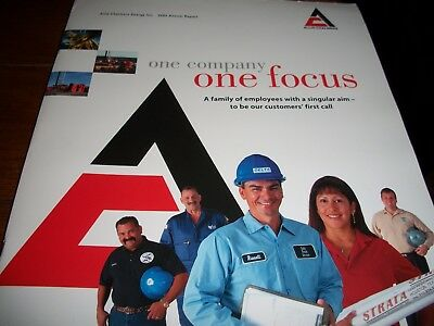 old AC Allis-Chalmers Energy Inc. 2004 Annual Report folder with papers Houston