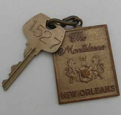 Vintage New Orleans~The Monteleone~Key and Fob~#1527