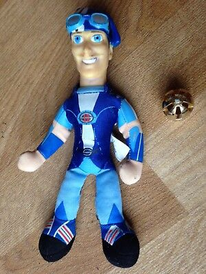 Lazy Town Blue Figure Arms/legs Move
