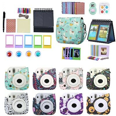 Fujifilm Instax Mini 9 8 8+ Case Strap Bundle Camera Starter Kit Value Gift Set
