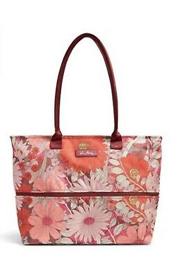 *NEW* Vera Bradley LIGHTEN UP EXPANDABLE TRAVEL Tote Bag in BOHEMIAN BLOOMS