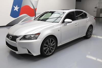 2014 Lexus GS Base Sedan 4-Door 2014 LEXUS GS350 F SPORT CLIMATE SEATS SUNROOF NAV 58K #038270 Texas Direct Auto